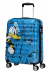 AT Dětský kufr Wavebreaker Disney Spinner 55/20 Cabin Donald Duck