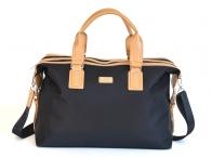 BRIGHT Cestovní taška příruční L na palubu černá/béžová