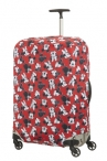 SAMSONITE Obal na kufr L Mickey/Minnie Red