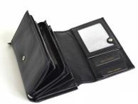 VALENTINI Dámská peněženka kožená vybavená DOPORUČUJEME černá
