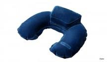 SAMSONITE Cestovní polštářek s podpěrkou INFL TR.PILL/POU modrý