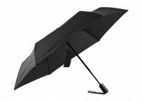 Bright Deštník skládací vystřelovací a zastřelovací O/C deštník černý