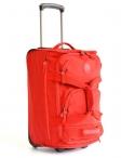 Bright Cestovní taška na kolečkách vybavená 50/26 na palubu S červená