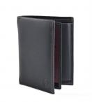 Bright Pánská peněženka kožená vybavená bez zapínání tmavě modrá