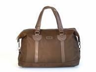 """Cestovní taška na notebook 15,6"""" Bright na palubu látková hnědá"""