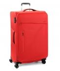 Roncato Kufr Action 75/29 TSA Spinner L Soft rozšiřovatelný Red