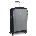 Roncato Obal na kufr 72- 76cm Luggage cover střední M - ML šedo-černý