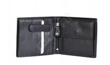 SAMSONITE Peněženka pánská SUCCESS na šířku kožená vybavená černá