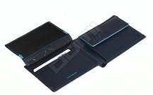 Samsonite pánská peněženka kožená OUTLINE SLG klasická modrá