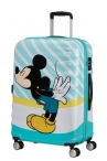 AT Dětský kufr Wavebreaker Disney Spinner 67/26 Mickey Blue Kiss