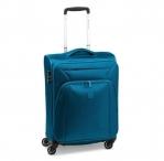 Roncato Kufr S Tribe Spinner 55/20 soft rozšiř. Cabin modro-zelený