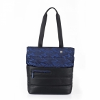"Roncato Kabelka na tablet 10"" Boston Handbag - shopper Blue"