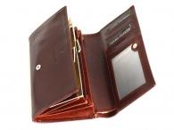 Valentini Dámská peněženka velká klasická (psaníčko) kožená hnědá