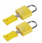 SAMSONITE Zámek na klíček 2 kusy Travel accessories yellow