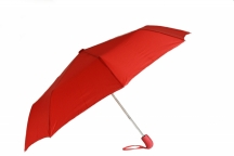 Bright Deštník skládací automatický deštník Unisex červený
