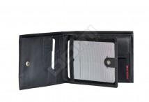 SAMSONITE Peněženka PRO-DLX na šířku vybavená kožená RFID černá