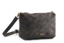 Bright Elegantní kabelka/kapsa větší A5 hladká tm. šedá