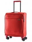 Bright Kufr Spinner 52/18 S malý Soft Cabin TSA červený