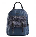 Bright Dámský batoh A4 střední i na jedno rameno modrý