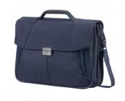 "SAMSONITE Aktovka na notebook 15,6"" XBR Briefcase 2 oddělení blue"