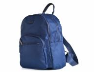 Bright Dámský batoh A5 látkový s 2 hlavními kapsami modrý