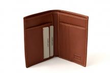 LAURA BIAGIOTTI Pánská peněženka bez drobných na výšku hnědá