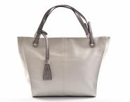 Bright Fashion kabelka dámská vělká A4 bílá