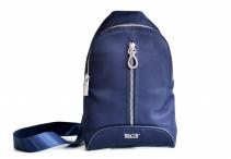 Bright Kapsa-batůžek na záda na výšku damská Crossbody modrá