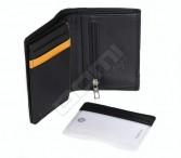 Samsonite peněženka/dokladovka kožená OUTLINE velmi vybavená černá