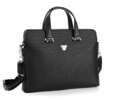 "Roncato Kabela na notebook 14"" Brave A4 leather Black"