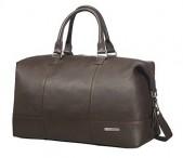 SAMSONITE Cestovní taška kožená Equinox Duffle 52/20 Cabin brown