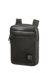 SAMSONITE Crossbody kapsa HIP-SQUARE Leather Black