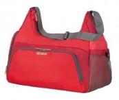American tourister Kabelka Road quest female gym bag střední red