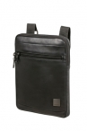 "SAMSONITE Crossbody kapsa na tablet 9,7"" HIP-SQUARE Leather Black"