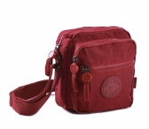 BRIGHT Crossbody kapsa Bordo