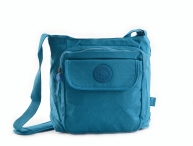 BRIGHT Crossbody kapsa A5 Bright so light Tyrkysová