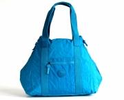 Bright so light Příruční taška S lehká látková Gym bag modro-tyrkysová