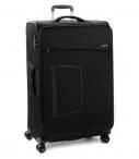 Roncato Kufr Action 75/29 TSA Spinner L Soft rozšiřovatelný Black