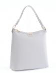 Bright Elegantní dámská kabelka menší A4 kožená bílá