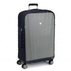 Roncato Obal na kufr 80cm - 86cm Luggage cover velký L-XL šedo-černý