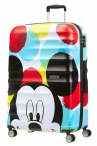 AT Dětský kufr Wavebreaker Disney Spinner 77/29 Mickey Close-Up