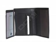 Samsonite pánská peněženka kožená NYX 3 SLG vybavenější černo-hnědá