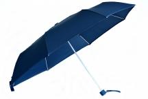 Bright Deštník skládací mechanický deštník Unisex tm. modrý