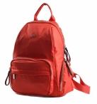 Bright Dámský batoh s kapsami větší A5 vybavený červený