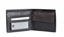 Samsonite pánská peněženka kož. NYX 3 na výšku klasická černo-hnědá