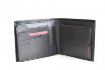 SAMSONITE Pánská peněženka PRO-DLX na karty kožená RFID černá