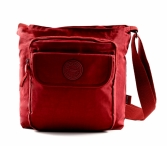 BRIGHT Crossbody kapsa A5 Bright so light Bordo