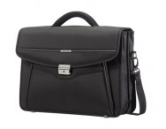 "SAMSONITE Aktovka na notebook 15,6"" Desklite dvojitá black"