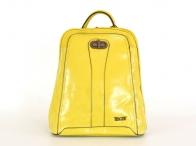 Bright Batoh dámský A5 jemně lesklý žlutý