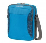 American tourister Kapsa Road quest cross-over látková bluestar